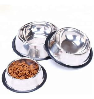 Comedero Perros Acero Inox. Antivuelco 15,5cm Xchico