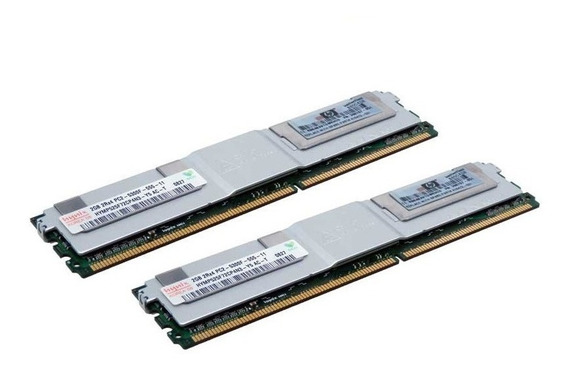 Hp 1gb Fully Buffered Dimm Pc2-5300 2x512 Ddr2 Memory Kit