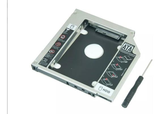 Gaveta Hd Ssd Sata 2.5 Notebook Case Caddy Dvd Cd Leitor 9,5