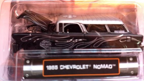 Miniatura Chevrolet Nomad Bel Air Harley Davidson 1:64 Maist