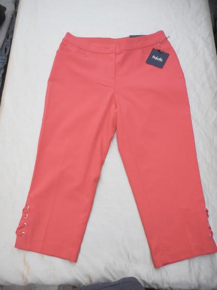 Pantalon Capri Nuevo Marca Rafaella Talla 4 Usa O 26mx