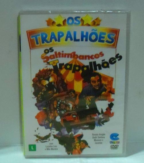 Dvd Trapalhões - Os Saltimbancos Trapalhões Lacrado Fabrica