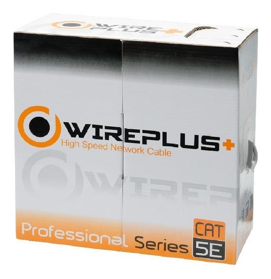 Cable Utp Cat 5e Bobina 100mts Wireplus