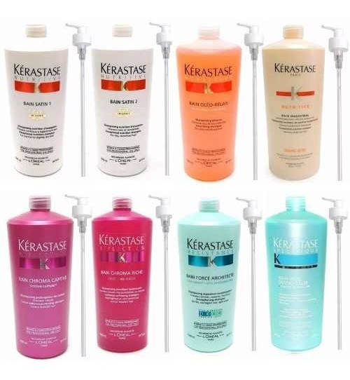 Kerastase Shampoo X 1000 Loreal Bain De Force / Oleo Relax