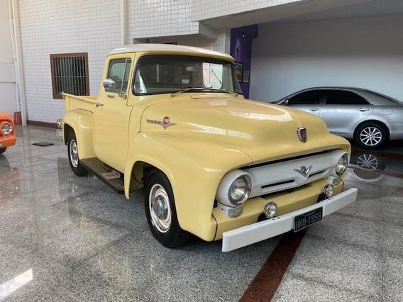 F100 1959 Placa Preta
