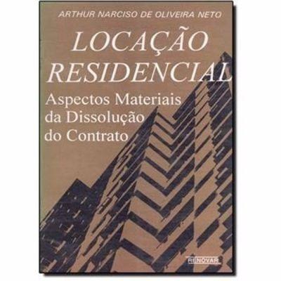 Livro Locação Residencial Arthur Narciso De Oliveira Neto
