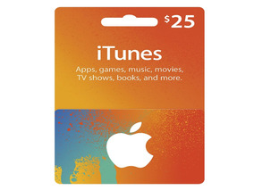 Cartao Apple Itunes 25 Dólares Usd