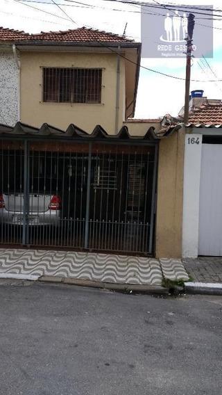 Sobrado Com 2 Dormitórios À Venda, 180 M² Por R$ 635.000 - Tatuapé - São Paulo/sp - So0107