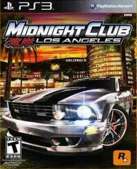 Ps3 Midnight Club Los Angeles (clássico Ps2) Play3 Corrida