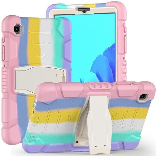 Imagen 1 de 7 de Samsung Galaxy Tab A7 Lite T225 Carcasa Antishock Color 360