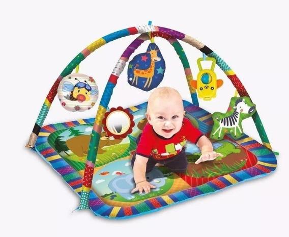 Tapete Centro De Atividades Zoop Toys Infantil Bebe