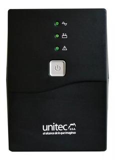 Ups Unitec U 650va Con 8 Tomas, Protección Para Computadores