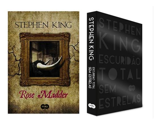 Livro Rose Madder + Escuridão Total Sem Estrelas - King