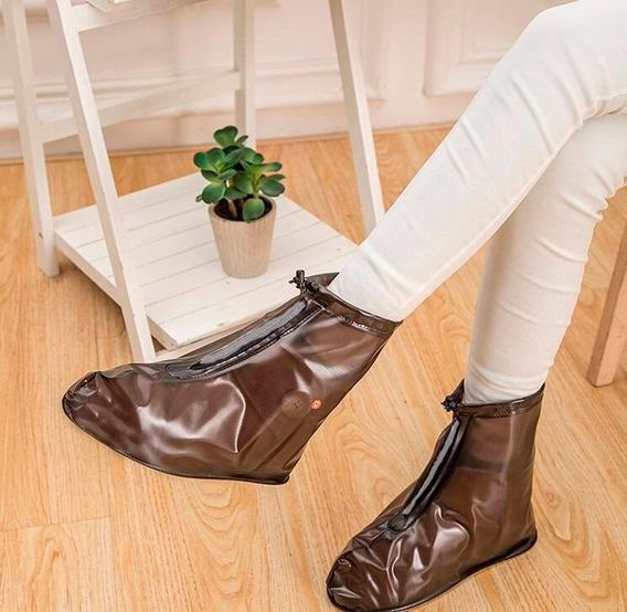 Botas Forros Funda Impermeable Contra Agua Lluvia Charcos Protectores De Zapatos Para Tenis Adulto Infantil Niños Unisex