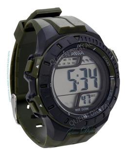 Reloj Resistente Agua 50m Deportivo Cronometro Luz Alarma