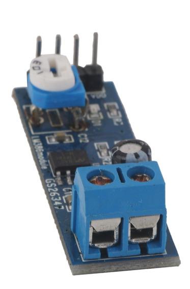 Lm386 200 Ganho De Áudio Amplificador Módulo 10k Resistência