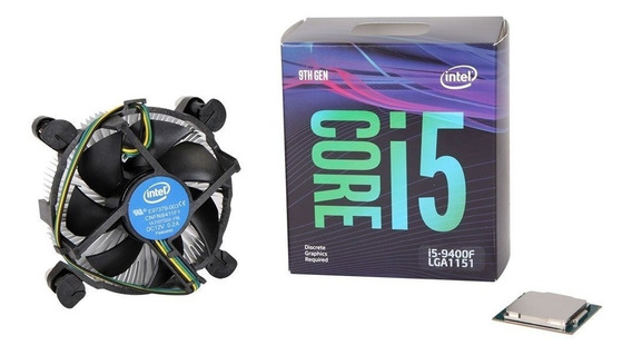 Micro Procesador Intel Core I5 9400f 4.0ghz 9na 1151 Cuotas