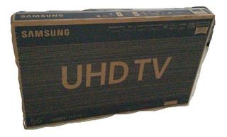 Caja Tv Led 4k Uhd Samsung 55 Ru7100 Vacia Incluye Telgopor