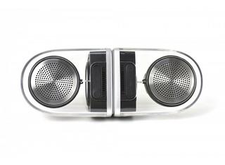Speaker Bluetooth Ovevo Bass Magnetico Transparente Acrilico