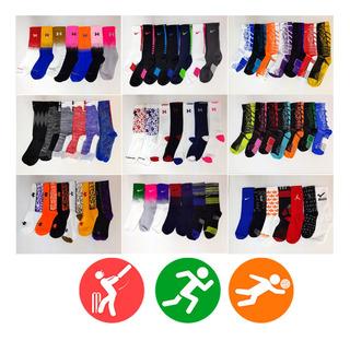 3 Pares De Calcetas Para Basquetbol / Voleibol / Crossfit