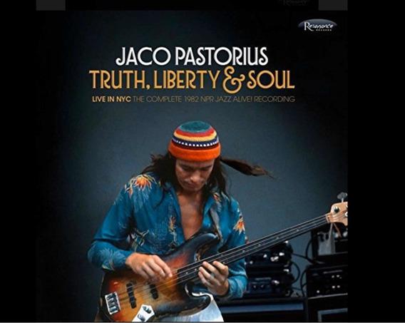 Jaco Pastorius Truth,liberty E Soul Cd Imp