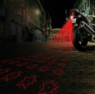 Láser Estrella 5 Puntas Anti -colisión Motos Luz De Niebla