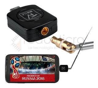 Hdtv Antena Sintonizador Tv Digital Gratis En Celular Gtia