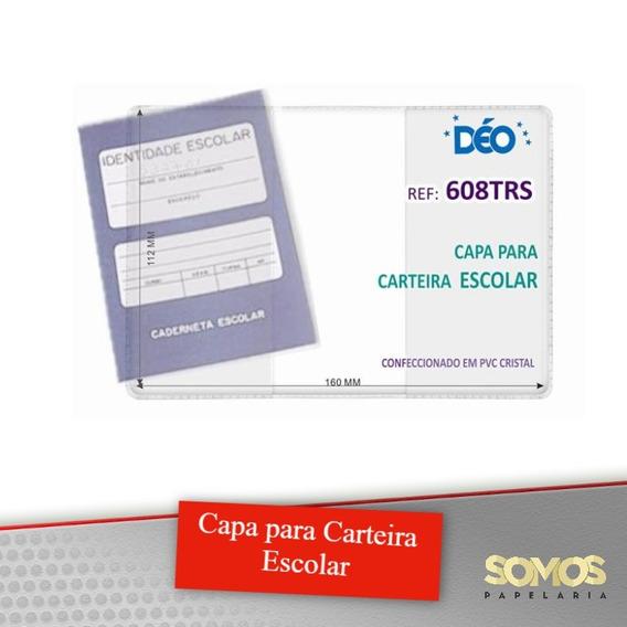 Capa Para Caderneta Escolar Kit Com 30 Peças
