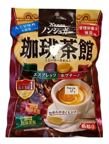 Imagem 1 de 1 de Bala Espresso Cappuccino 69g Kanro Importado Japão