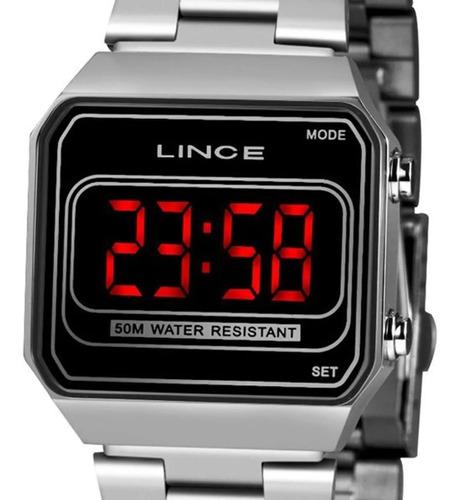 Imagem 1 de 6 de Relógio Lince/orient Unissex Digital  Mdm4645l Pxsx -oficial