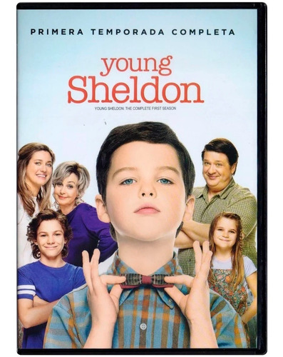 Young Sheldon Primera Temporada 1 Uno Dvd