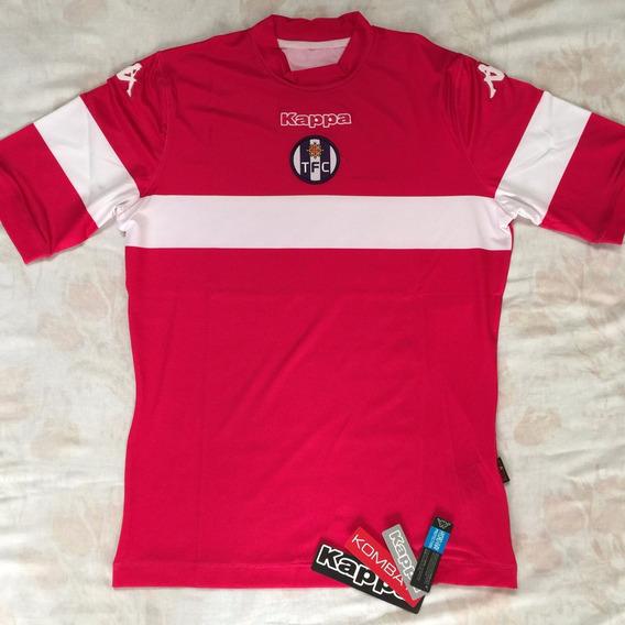 Camisa Kappa Toulouse 13/14 G Rosa Nova Original Fn1608