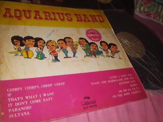 Lote 2 Lps Aquarius Band (continental)