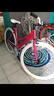 Bicicleta Fixie Dama