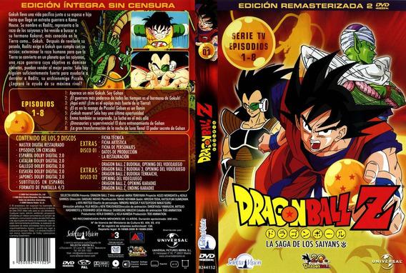Coleção Dragon Ball Z Dublada Remasterizada Oficial Dvd Iso
