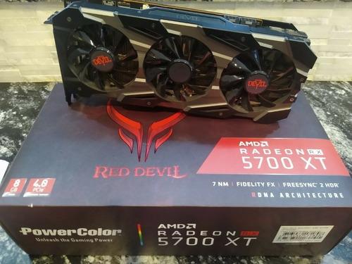 Powercolor Red Devil Amd Radeon Rx 5700 Xt 8gb Gddr6 Graphic