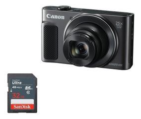 Câmera Canon Sx620hs Wifi/20.2 Megapixel/zoom 25x +32gb