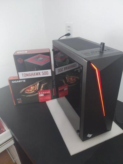 Pc Gamer I5 3.8ghz/ Rx 560 4gb/ 8ram / 500gb Hd/ 500w 17pol