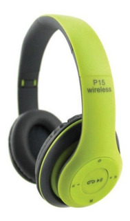 Auricular Headphone Inalambrico Bluetooth Wireless 15hs
