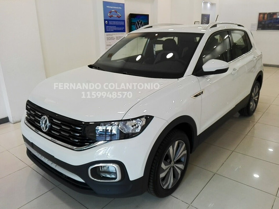 T Cross Highline Volkswagen 2020 Full Precio 0km Automatica