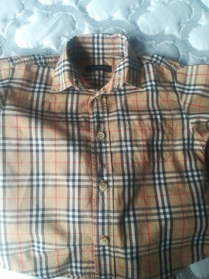 Camisa Y Pantalón Burberry