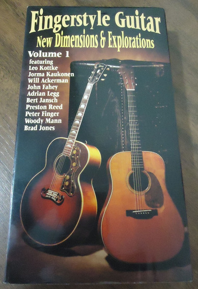 Fingerstyle Guitar New Dimensions Exploration Vhs John Fahey