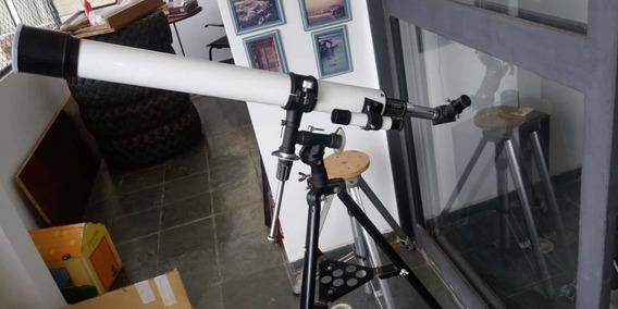 Telescópio Vintage Towa 60mm Df 800mm Excelente Original