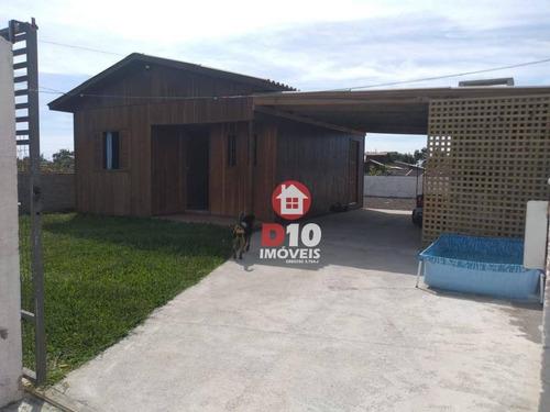 Casa À Venda Com 2 Dormitórios Em Balneário Arroio Do Silva-sc,proxmo Ao Dudu Material De Construção E Supermercado Tubarão. - Ca2118