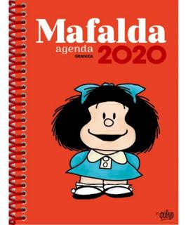 Agenda Mafalda 2020 Anillada Roja