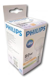 Foco Philips 10w 3000k Calida E27 900lm