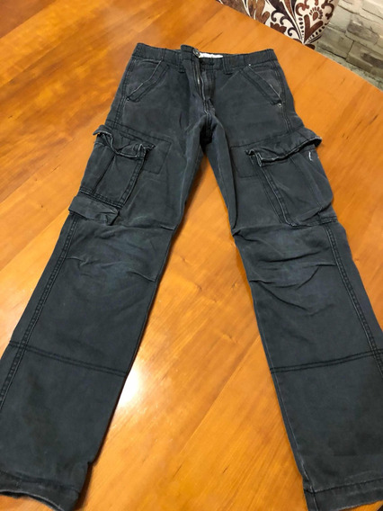 Pantalón Cargo Gris Oscuro Talle 12
