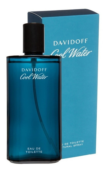 Perfume Davidoff Cool Water 125ml Novo E 100% Original