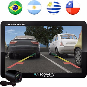 Gps Automotivo Aquarius 4.3 Câmera De Ré Tv Digital Nf