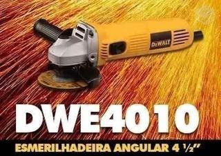 Esmerilhadeira Dewalt Dwe4010 700w 220v + 5 Disc + 1 Oculos De Segurança